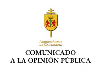 COMUNICADO DE LA ARQUIDIÓCESIS DE CARTAGENA