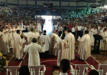 LUNES CRISMAL EN NUESTRA IGLESIA ARQUIDIOCESANA – VIDEO